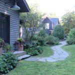 Jamie Purinton Landscape Architecture, entry walk hillsdale