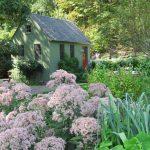 Jamie Purinton Landscape Architecture, garden shed hillsdale