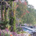 Jamie Purinton Landscape Architecture, pool pergola hillsdale