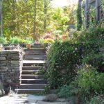 Jamie Purinton Landscape Architecture, stone steps hillsdale